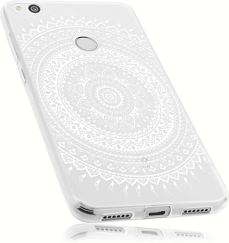 mumbi Funda Compatible con Huawei P8 Lite (2017) Caja del teléfono móvil Avec Motif Mandala, Transparente: Amazon.es: Electrónica