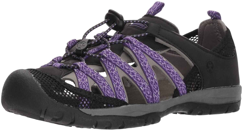 Northside Women's Santa Rosa Sport Sandal B0735H3QMF Size 8 M US Black/Violet