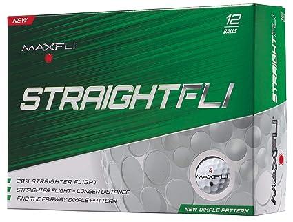 Amazon.com: Maxfli straightfli pelotas de golf (12 unidades ...