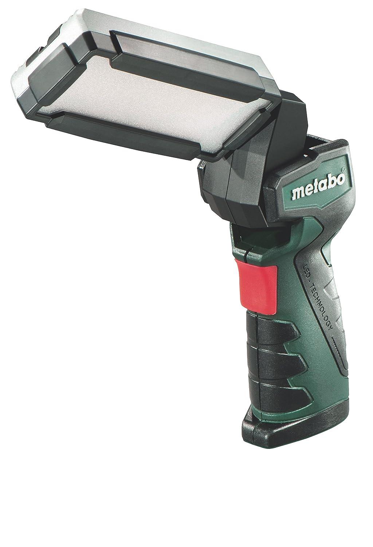 Metabo 6.00369.00 PowerMaxx SLA LED Akku-Stablampe, Schwarz, Grü n