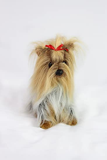 Amazoncom Long Haired Yorkshire Terrier Stuffed Animal Therapy