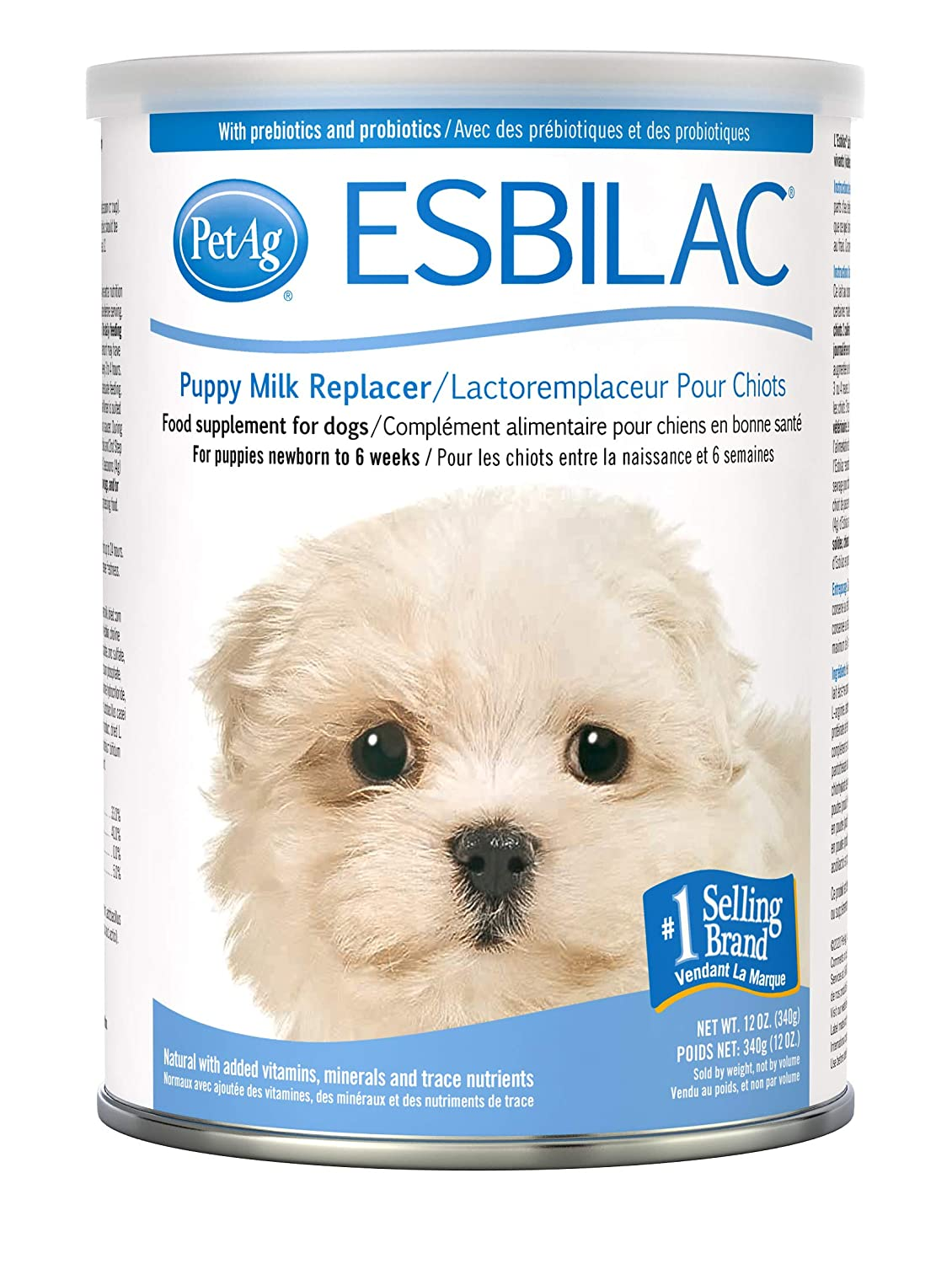 Buy Pet Ag Esbilac Powder Milk Replacer For Puppies Dogs 12oz Online At Low Prices In India Amazon In