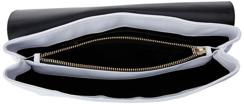 Roberto Verino Bolso Messenger Manhattan, Cartera de Mano para Mujer, Beige (Marfil), 7x19x32 cm (W x H x L): Amazon.es: Zapatos y complementos