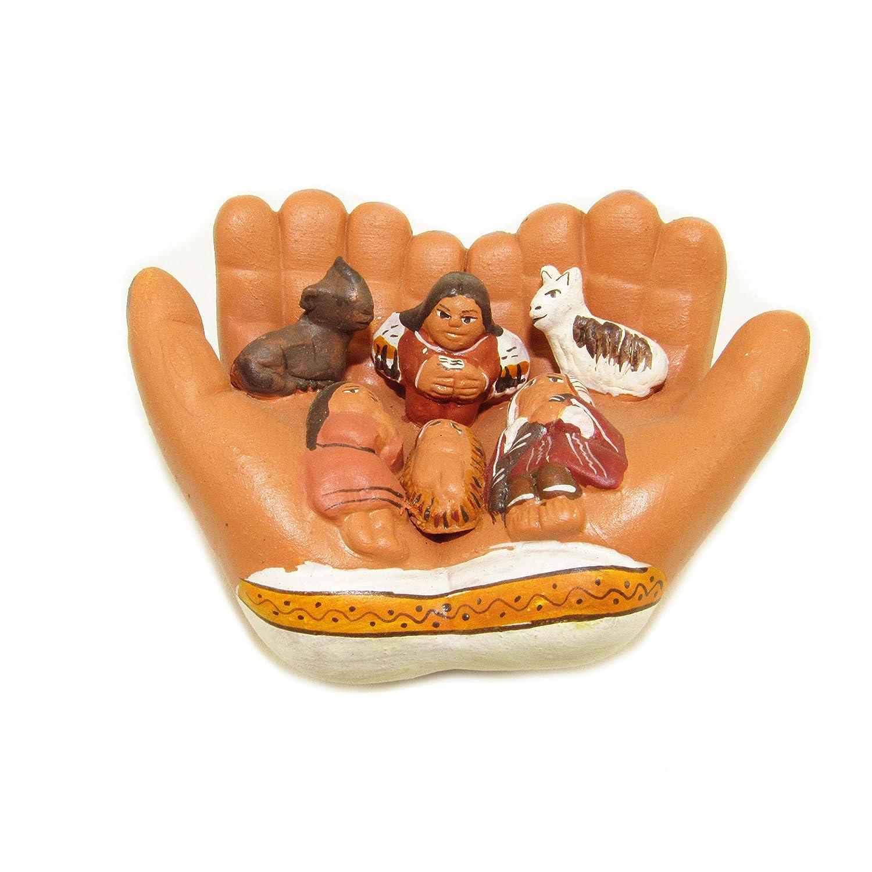 Amazon Machu Picchu Store HOLY Night Ceramic Nativity Set