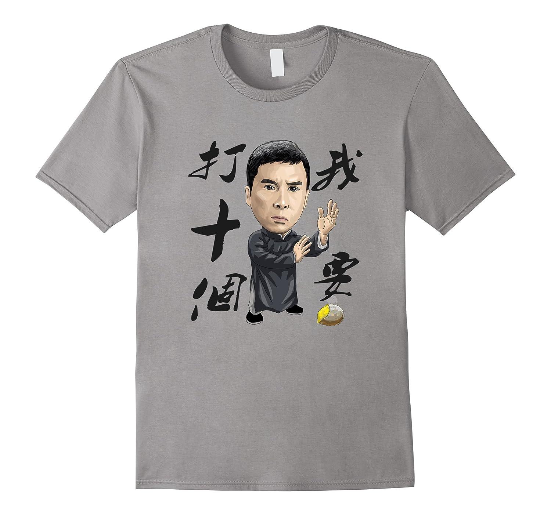 Funny Kungfu Man T-Shirt-BN