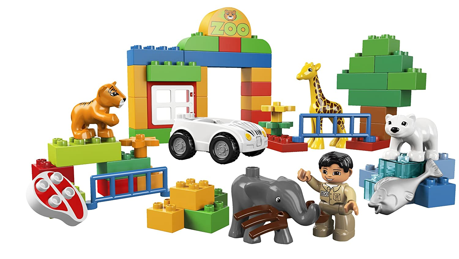 Amazon Lego Duplo My First Zoo 6136 Toys Games