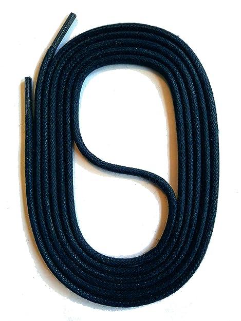 SNORS LACCI COLORATI naturale rotondo AZZURO SCURO 75cm 29.5 quot  2-3 mm  STRINGHE PER 9d590dfb99d