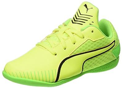 half off 9099b 82cc7 Puma 365 Ct Jr, Scarpe da Calcio Unisex – Bambini, Giallo (Safety Yellow