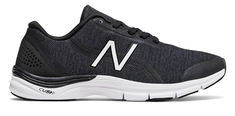 124902a889d3e (ニューバランス) New Balance 靴シューズ レディーストレーニング 711v3 Heathered Trainer Black with  White ブラック