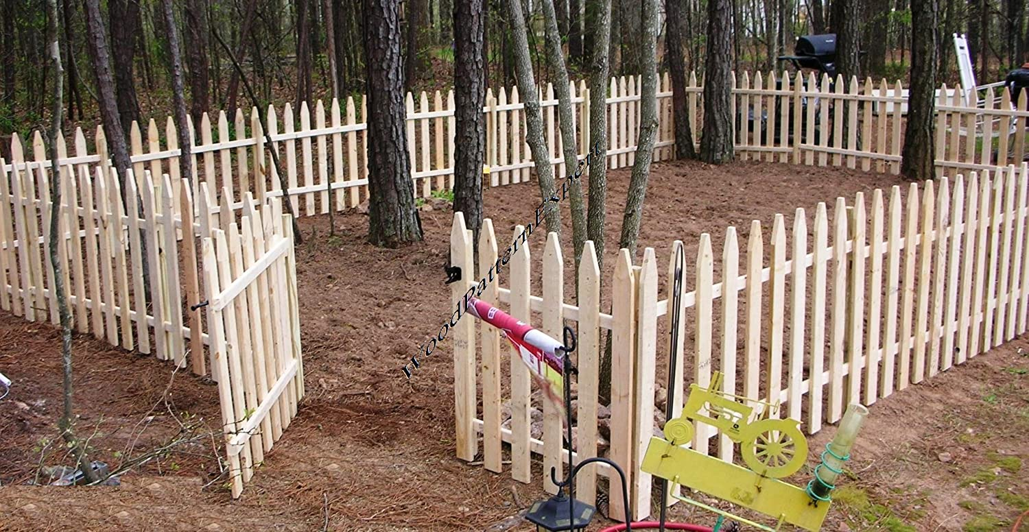 Amazon.com : GARDEN FENCE Paper Plans SO EASY BEGINNERS LOOK LIKE EXPERTS  Build Your Own CIVIL WAR PICKET STYLE Using This Step By Step DIY Patterns  By ...