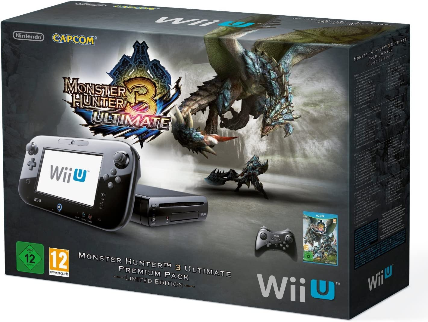 Nintendo Monster Hunter 3 - juegos de PC (Wii U, Wii U, IBM PowerPC, AMD Radeon, SD, SDHC, 32 GB, 32 GB) Negro: Amazon.es: Videojuegos
