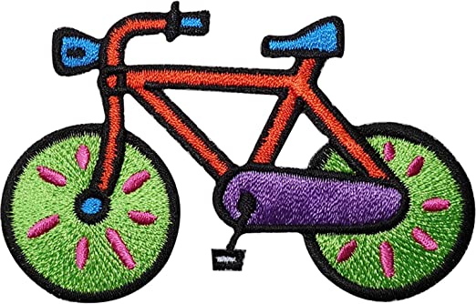 Bicicleta bordado hierro/sew on Patch ciclismo bicicleta ropa ...