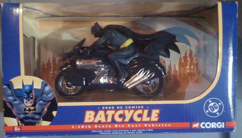 2000 DC Comics Batcycle 1:16th Scale Die Cast Vehicle by Corgi 77408