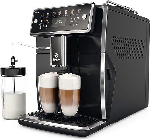 Philips Saeco Xelsis SM7580/00 Volautomatische espressomachine (led-display) pianozwart (FR-versie)