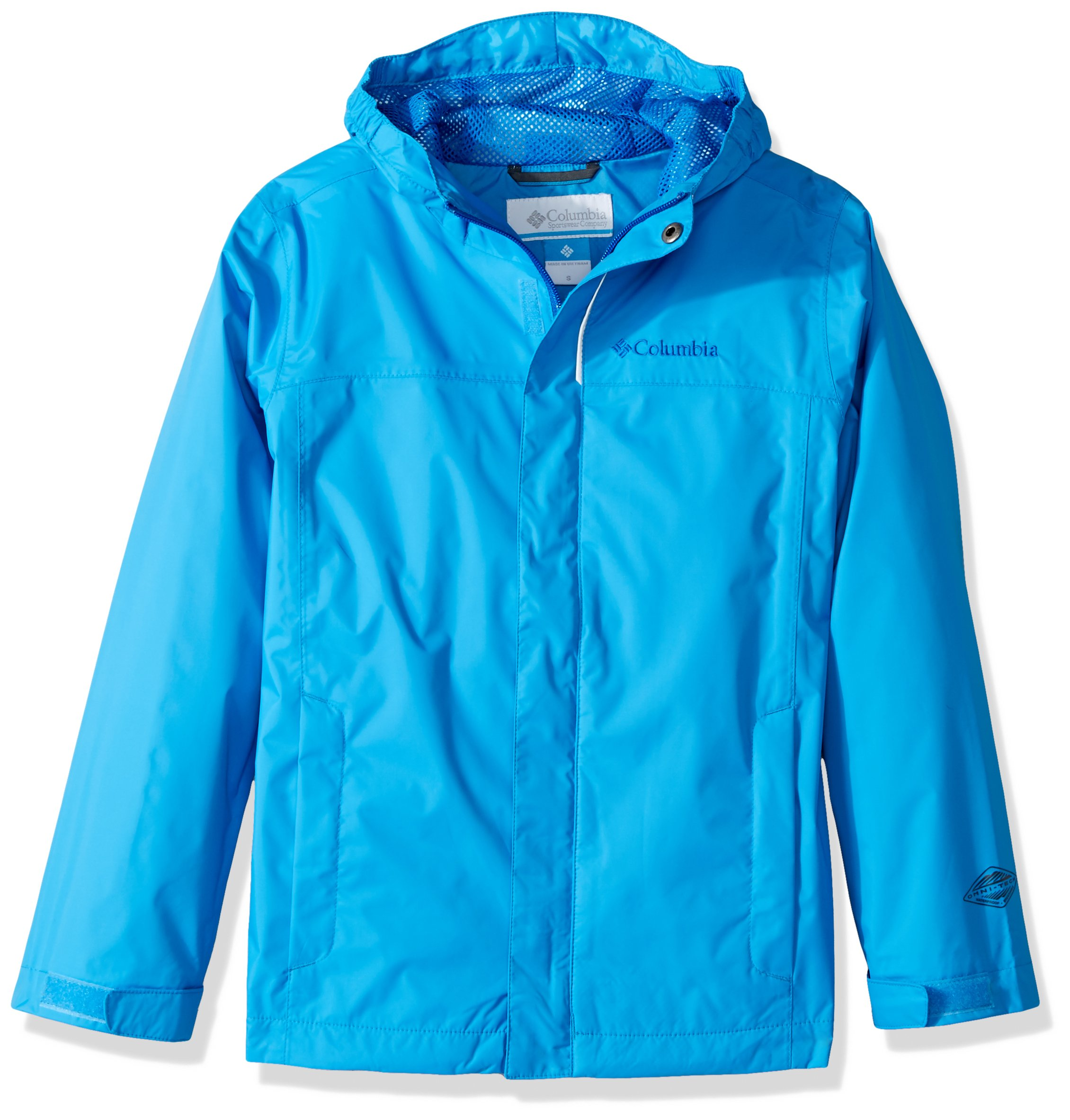 Columbia Boys' Little Watertight Jacket, Peninsula, X-Small