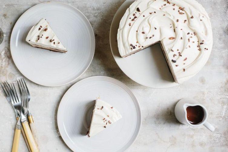 "Grey Swirl 10"" Cake Stand on Food52"