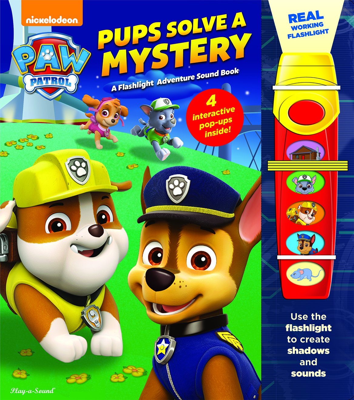 Nickelodeon Patrol Pups Solve Mystery product image