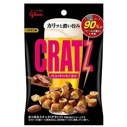 江崎グリコ CRATZ ペッパーベーコン