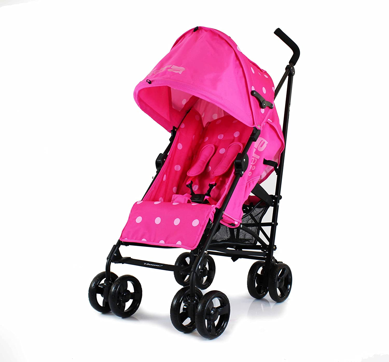 Zeta Vooom carrito (rosa lunares): Amazon.es: Bebé