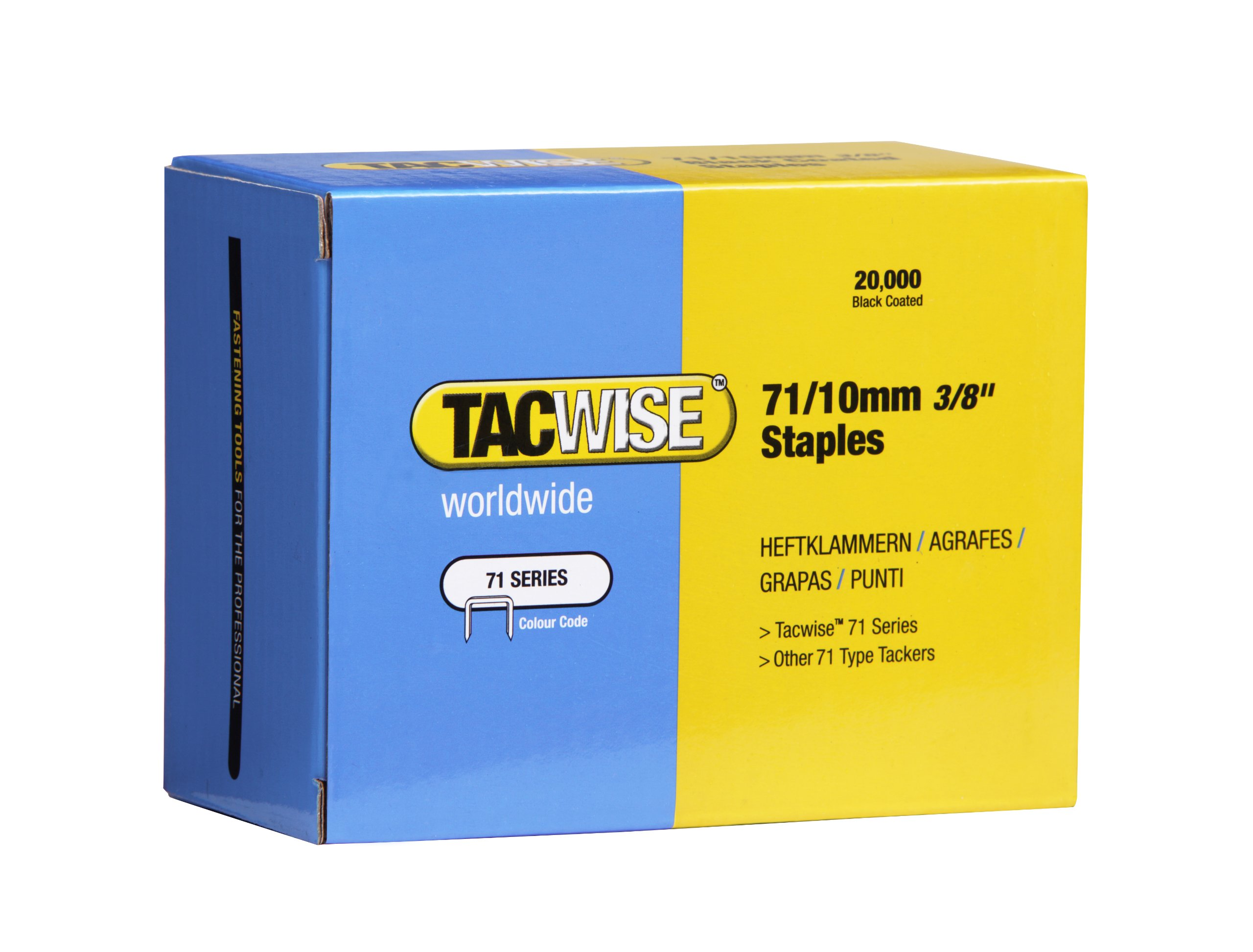 Box 2000 Tacwise 0187 32 x 18mm Wide Crown Copper Staples