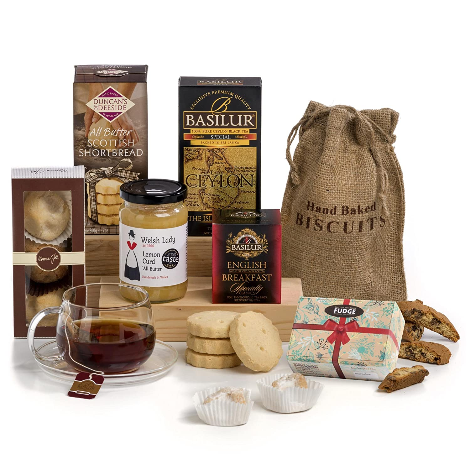 Hay Hampers, Traditionelle Tea Time Wunderkorb: Amazon.de ...