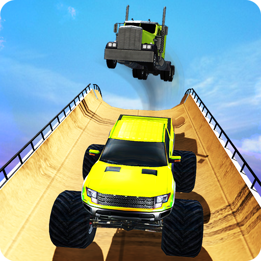 Extreme Monster Truck Car Stunts Impossible -
