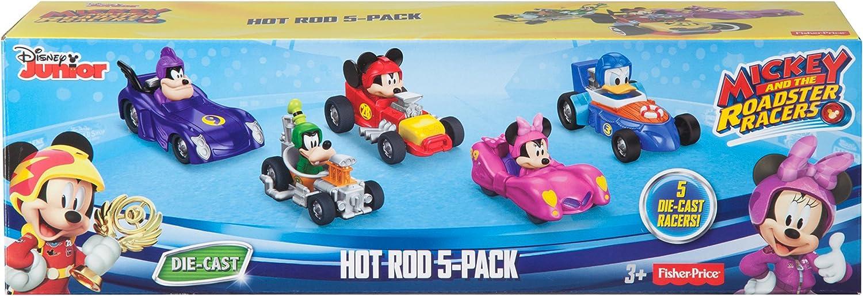 Disney Mickey /& Roadster Racers Roadster Racers Gift Pack Diecast 5-Pack