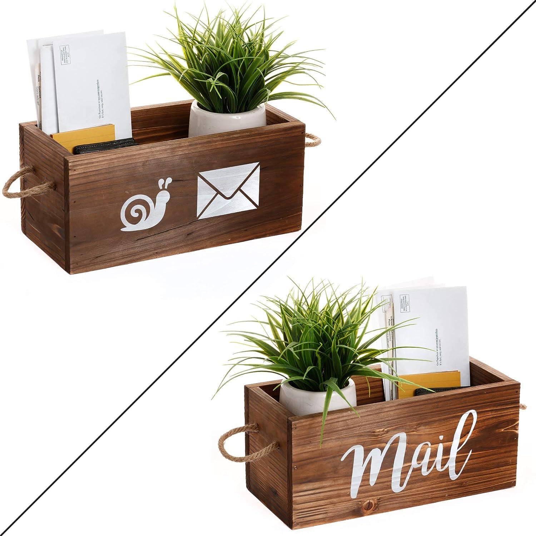 Happy Mailman Pen Holder Printed Postal Delivering Letter Table Top Display New