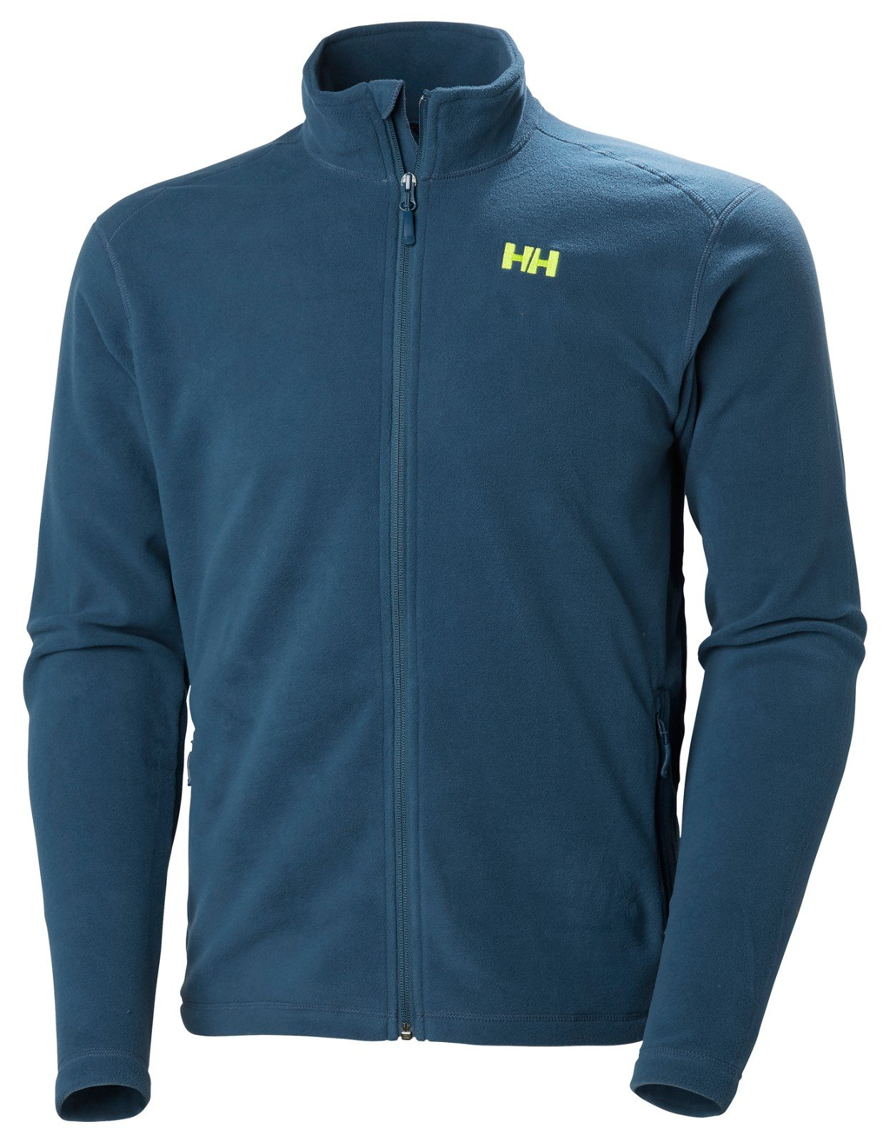 Helly Hansen Men's Daybreaker Lightweight Full Zip Fleece Jacket, 504 Dark Teal, Large by Helly Hansen