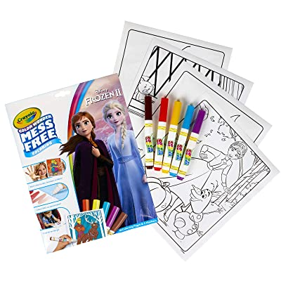 Crayola Color Wonder Frozen Coloring Book & Markers, Mess Free Coloring, Gift for Kids, Age 3, 4, 5, 6 (Styles May Vary): Toys & Games