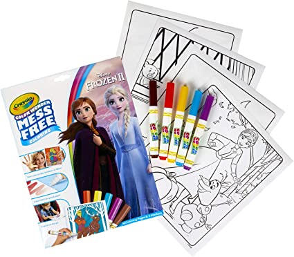 Amazon.com: Crayola Color Wonder Frozen Coloring Book & Markers, Mess Free  Coloring, Gift For Kids, Age 3, 4, 5, 6 (Styles May Vary): Toys & Games