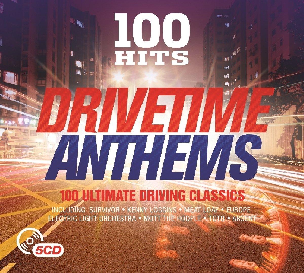 100 Hits: Drivetime Anthems: Nueva Portada
