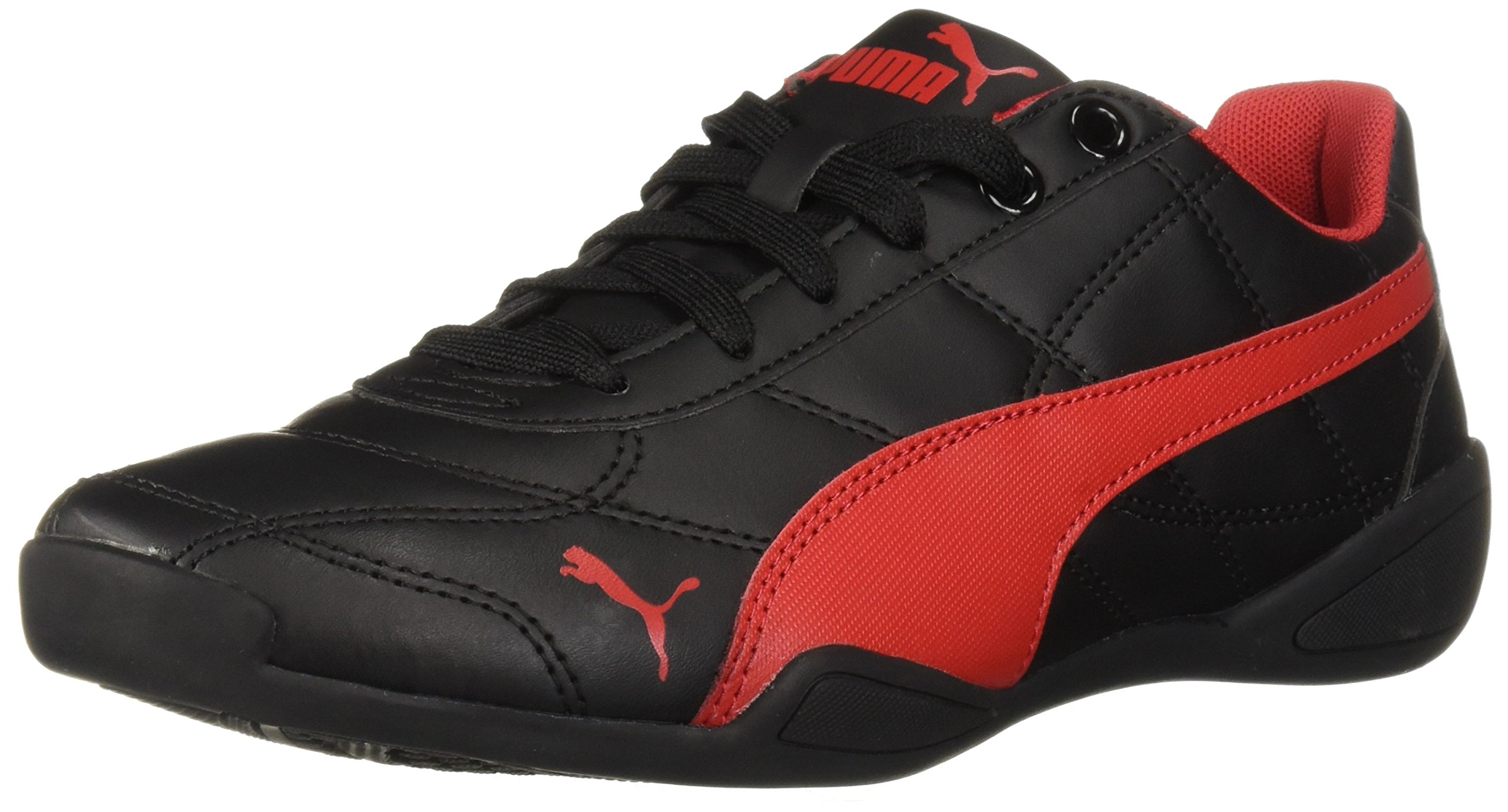 PUMA Unisex-Kids Tune Cat 3 Sneaker, Black-Ribbon Red, 12 M US Little Kid