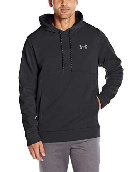 new product 134dc aef8f Under Armour Men s Storm Armour Fleece Hoodie, Black Black, Small