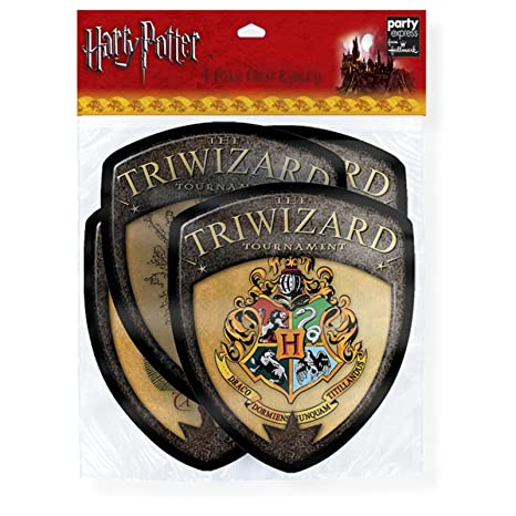 Amazon.com: Harry Potter Triwizard Torneo Emblemas, 4 ...
