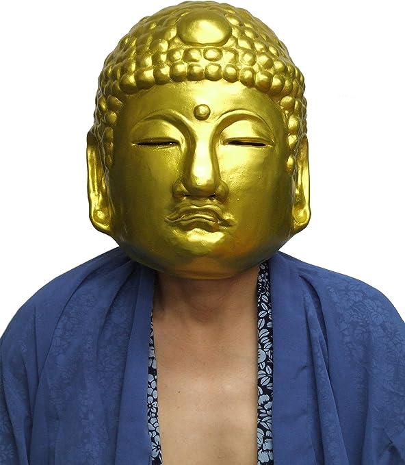 Amazon | ラバーマスク M3 黄金仏 | コスプレ・仮装 通販