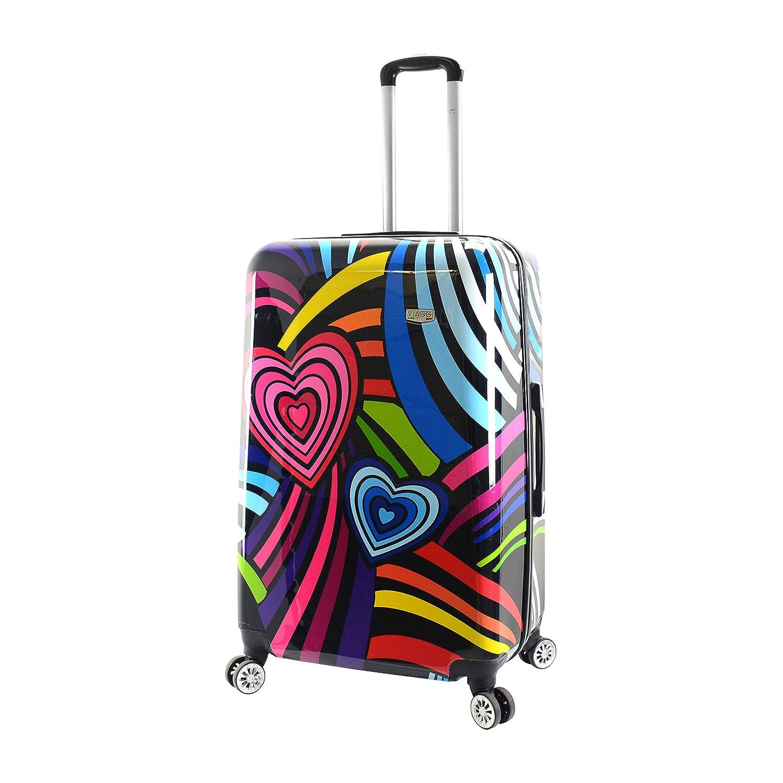 Viaggi, V1050-28IN-PLVN スーツケース, Pop Love, One Size B07M5HLH25