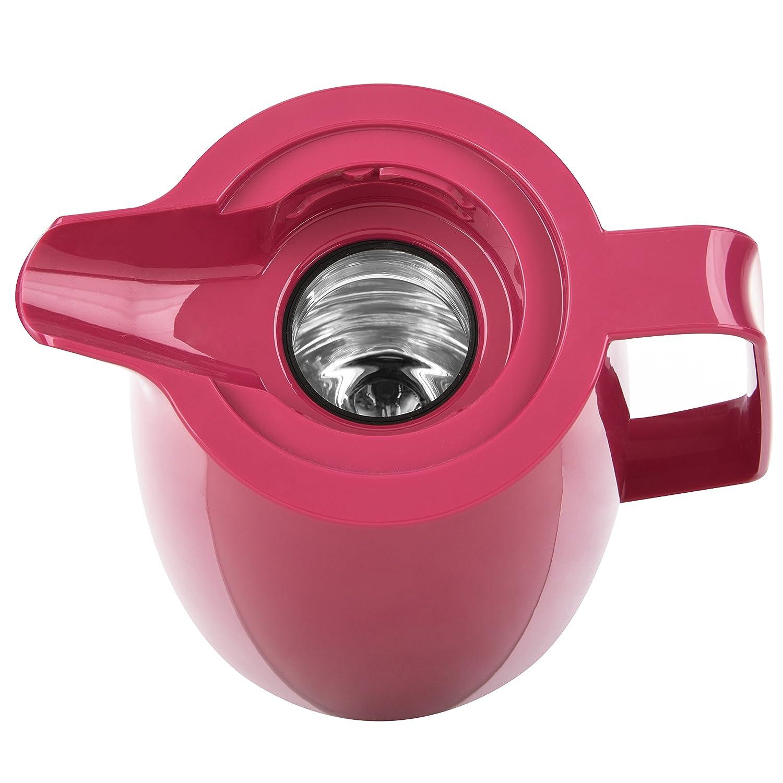 1 Litre 100/% Herm/étique 515845 Emsa Pichet Isotherme Fermeture Quick Tip Momento Rose