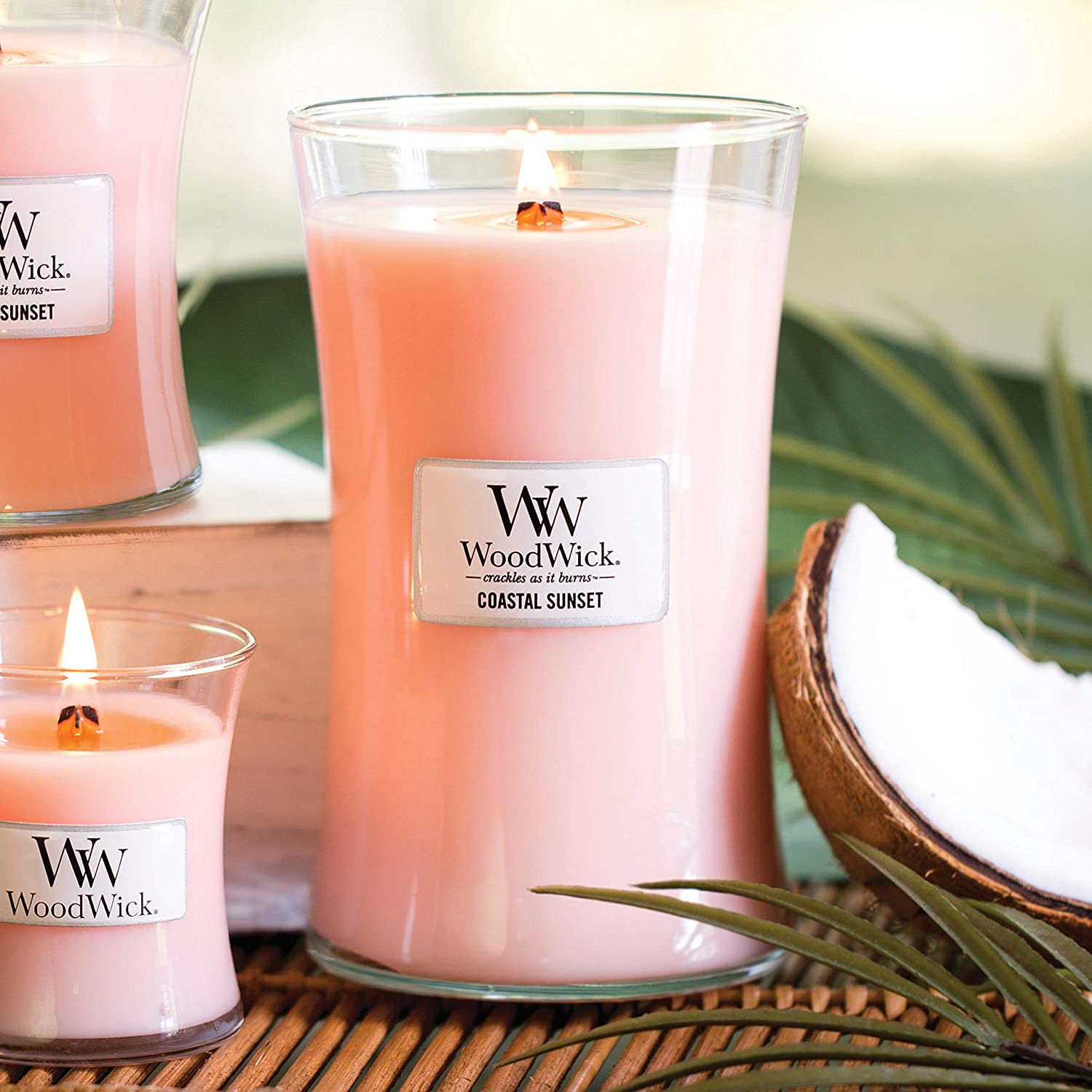 WoodWick Candle – Coastal Sunset