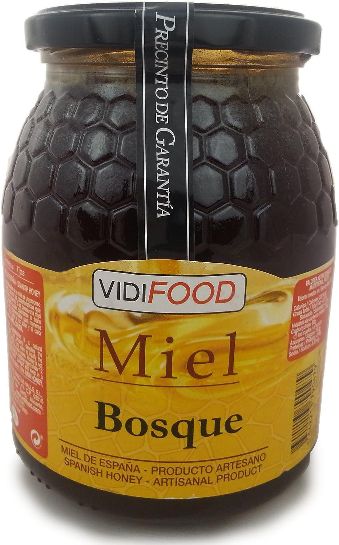 Miel de Bosque - 1kg - Producida en España - Alta Calidad, tradicional & 100% pura - Aroma Floral y Sabor Rico y Dulce - Amplia variedad de Deliciosos Sabores: Amazon.es: Alimentación y bebidas
