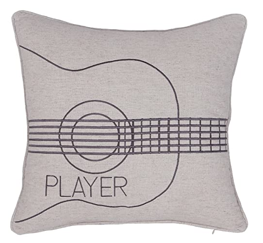yugtex pillowcases embroidered pillow covers guitar player throw pillowcase gifts for wedding couple