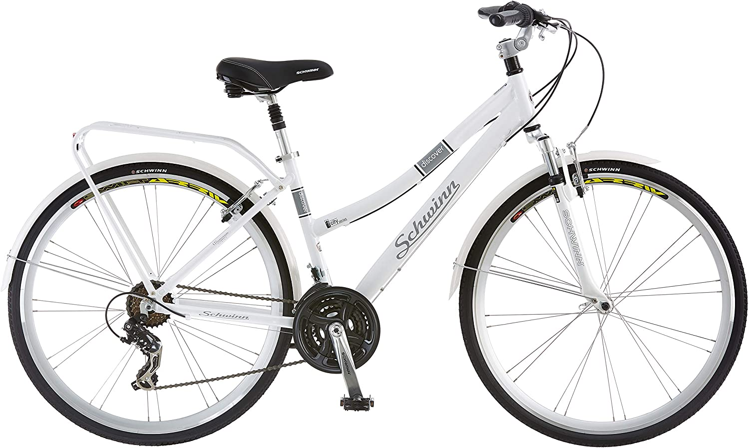 Schwinn Discover Hybrid Bike for 50 to 60 years old woman