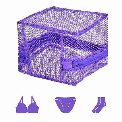 Bolsas de Lavandería,Bolsa Lavadora Lavado Púrpura,Secadora/Colada/Lavar La Ropa