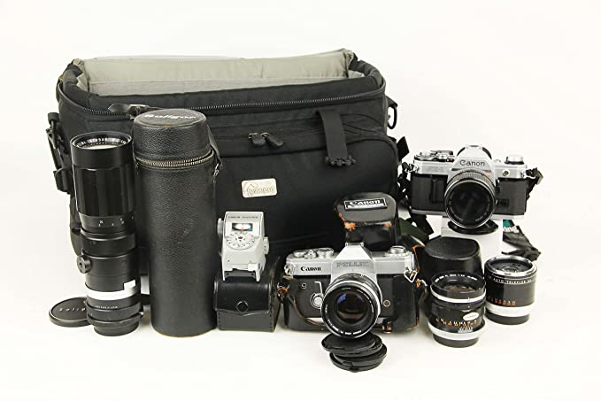 Review Canon A-1 Camera with
