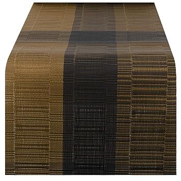 Nuovoware Camino de Mesa, 30 x 180 cm Premium Exquisite Tejido Resistente al Calor Antideslizante Textilene Decoración de Corredor de Mesa para cocina ...
