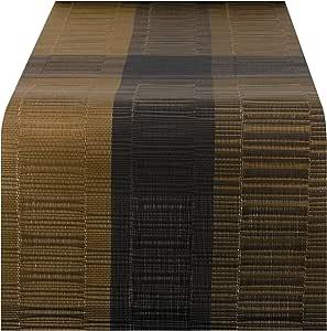 Nuovoware Camino de Mesa, 30 x 180 cm Premium Exquisite Tejido ...