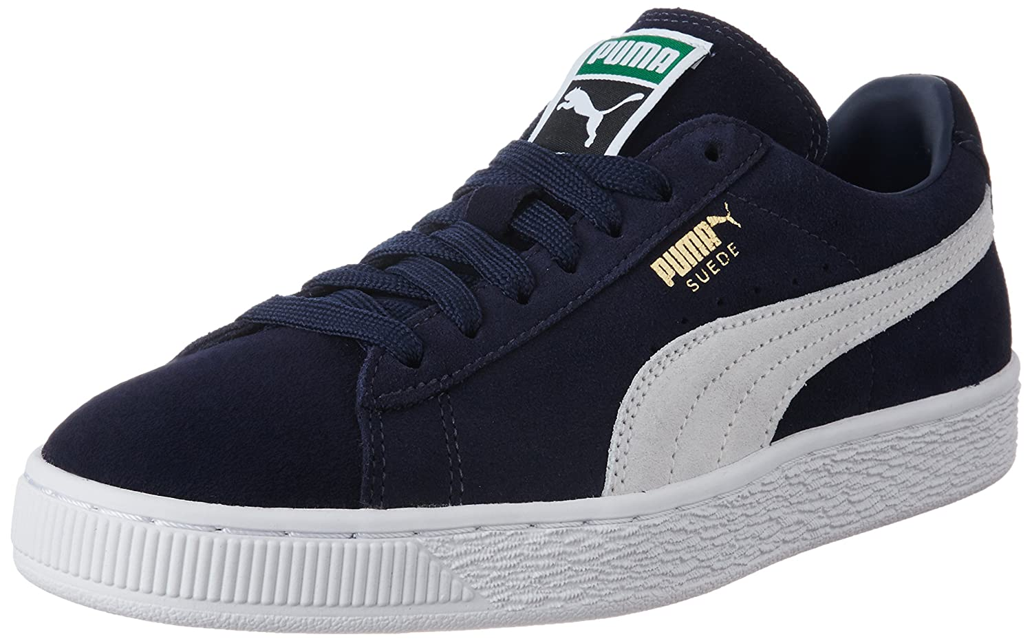 Puma Suede Classic Mens Trainers B00PAJNKEE 8 M US|Black-white