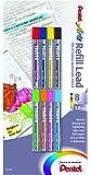 Pentel Arts 8 Colour Refill Lead, Assorted Colors, 8 Pack (CH2BP8M)