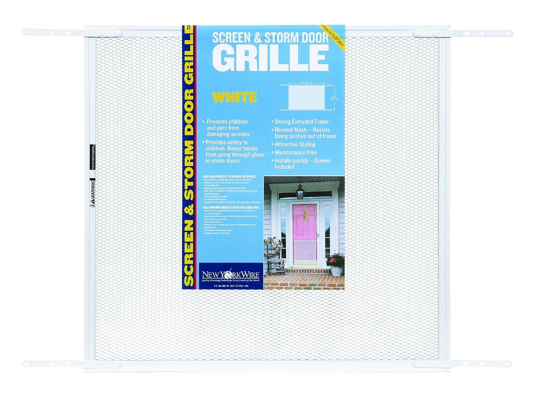 Adfors screen storm door grille 24 x 26 x 34 white window adfors screen storm door grille 24 x 26 x 34 white window screens amazon vtopaller Image collections