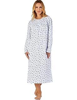 Slenderella Nightdress. 100% Jersey Cotton Long Sleeve Premium ... 21c828a92